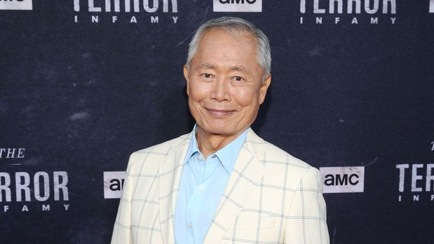 "LOS ANGELES, CALIFORNIA - AUGUST 06: George Takei attends ""The Terror"" Infamy Event on August 06, 2019 in Los Angeles, California. (Photo by Jesse Grant/Getty Images for AMC)"