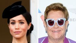 Elton John Slams Critics Of Meghan Markle, Prince