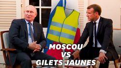 En réponse aux violences à Moscou, Poutine évoque les gilets