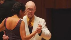 99-Year-Old Man Competes In World Tango