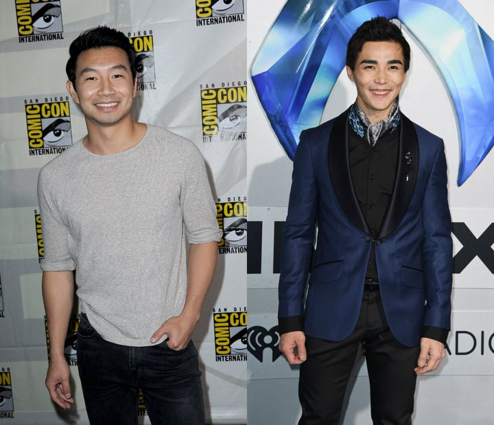 From left to right: Simu Liu, Ludi Lin