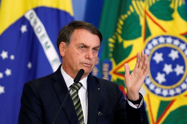 """Semana passada, Bolsonaro disse quese a Ancine""""não tivesse, em sua cabeça..."""