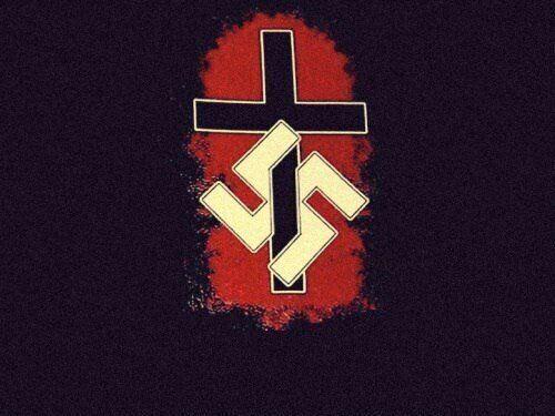 """Imagem pró-nazi é um exemplo do tipo de meme e conteúdo disseminado pelos """"supremacistas..."""