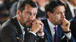 Jour J pour le gouvernement italien, le premier ministre sur un siège