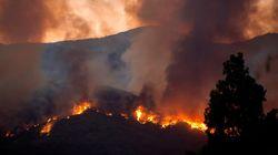Otros 600 desalojados en Estepona por el fuego causado por un hombre al quemar una