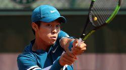 이덕희가 '청각장애 선수' 최초로 ATP투어 단식 본선서 세운