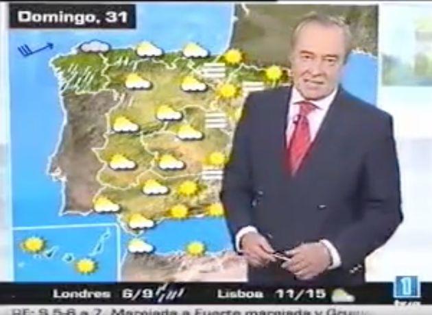 José Antonio Maldonado, antiguo 'hombre del tiempo' de TVE, tiene 75 años y no se jubila: esto es lo...
