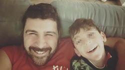 """""""La malattia di mio figlio non ha nome. Lui sorride e mi dà forza, sono un padre"""