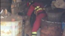 El vídeo viral de unos bomberos adentrándose en un zulo para salvar varios perros en pleno incendio de Gran