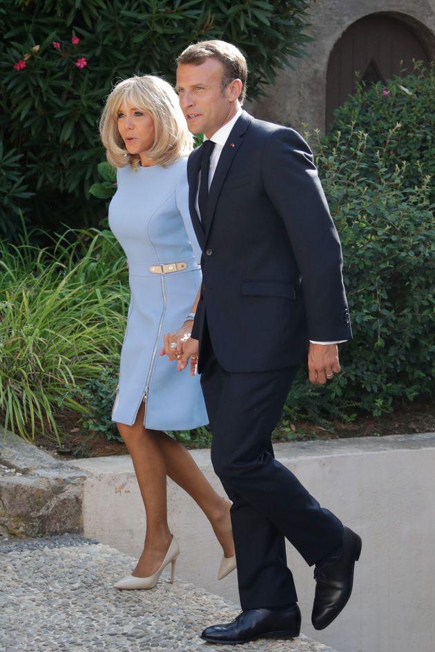 La prima foto di Brigitte Macron dopo il