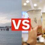 タピオカミルクティーで琵琶湖を満杯にできるか?