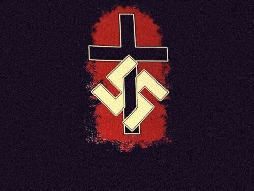 Esta imagen pro-Nazi es un ejemplo del tipo de memes y contenido que se prograga entre los grupos 'supremacistas...