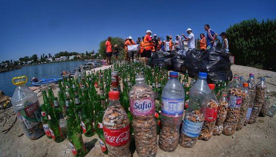 Le port punique de Carthage nettoyé par Tunisie Recyclage