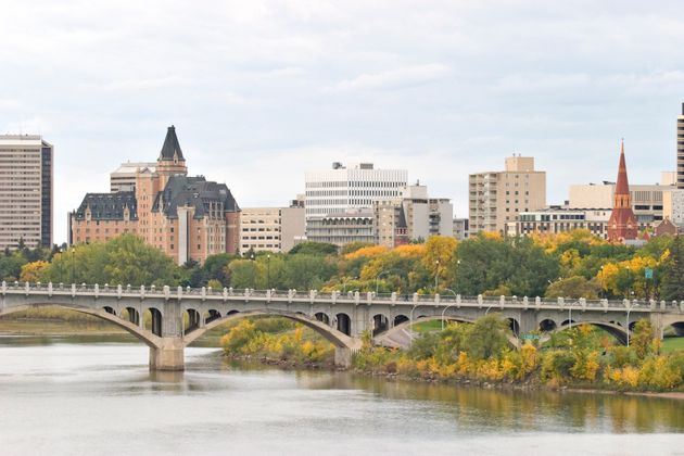 Saskatoon's skyline is seen here in this fall photograph of the