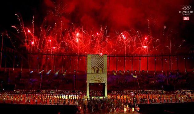 Retour en images sur la cérémonie d'ouverture des Jeux