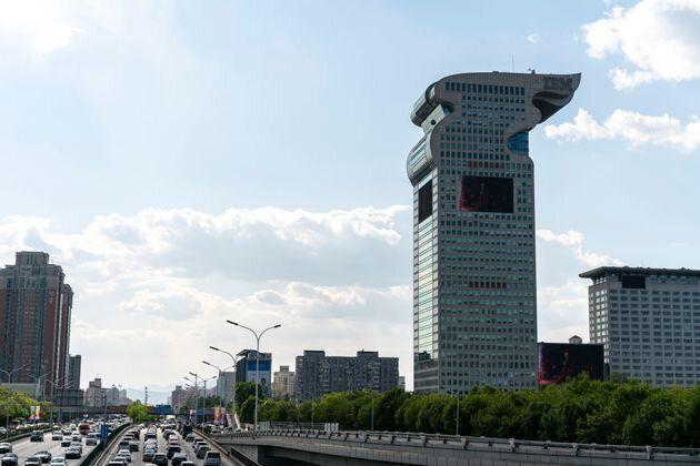 Cet immeuble de 40 étages, qui donne sur le stade des Jeux Olympiques de 2008, était la...