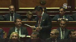 Salvini risponde alle critiche di Conte in Senato: