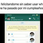 Sus abuelos intentan felicitarle por WhatsApp: los mensajes de audio que ya son un fenómeno en