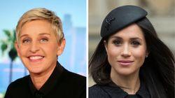 Ellen DeGeneres Defends Meghan Markle, Prince Harry Amid Press