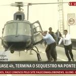 Governador do Rio de Janeiro comemora morte de sequestrador por atirador de