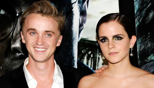 Emma Watson And Tom Felton's 'Harry Potter' Reunion Has Fans Freaking