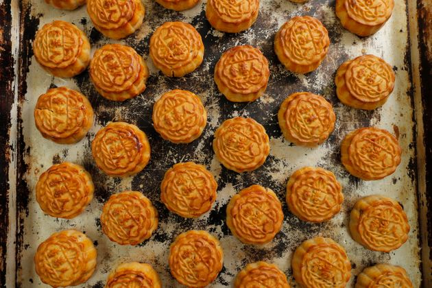 These mooncakes' pro-democracy messages have been popular at Wah Yee Tang. South China Morning Post reports...