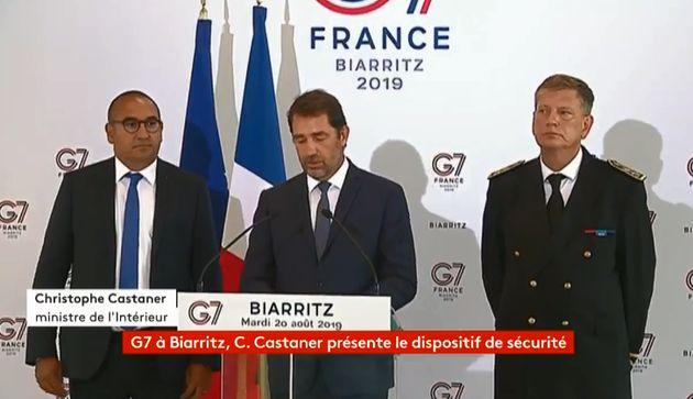 G7: 13.200 policiers et gendarmes mobilisés, annonce