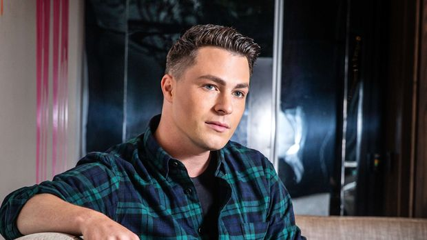 JUNE 7, 2019: MELBOURNE, VIC. (EUROPE AND AUSTRALASIA OUT) Actor Colton Haynes poses during a photo shoot in Melbourne, Victoria. (Photo by Sarah Matray / Newspix / Getty Images)