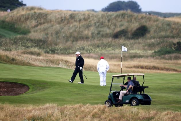 Trump Inflating Scottish Golf Resorts Value By $165 Million, Records Show