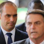 Mesmo jogando todas as fichas, Bolsonaro admite desistir de Eduardo