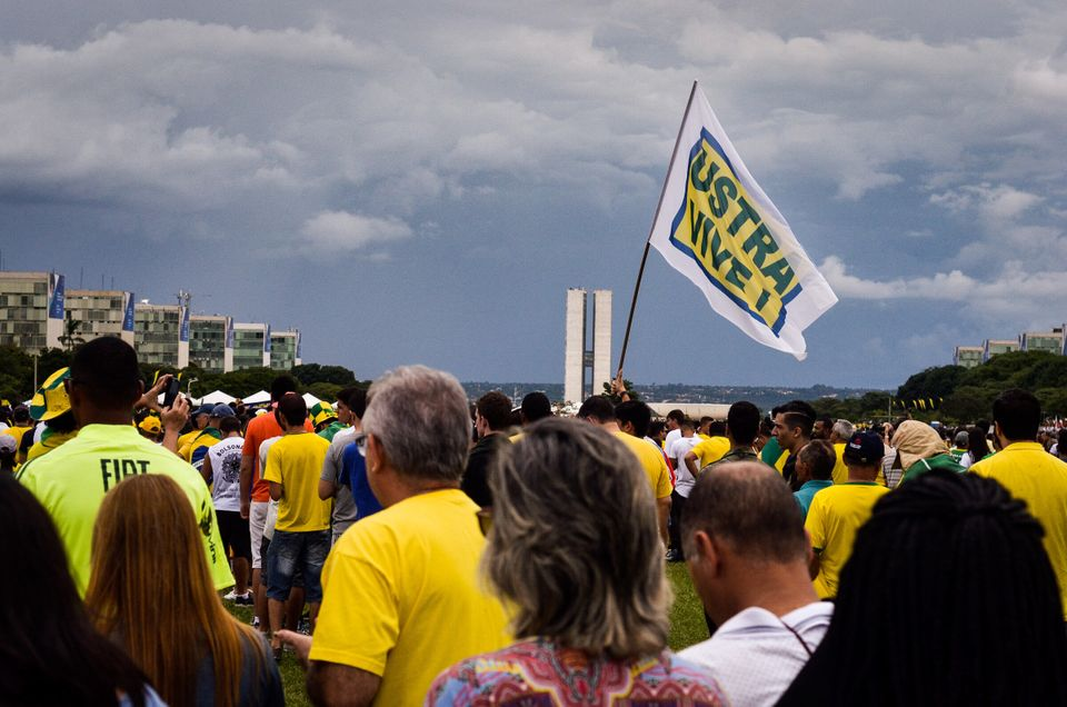Presidente Jair Bolsonaro disseminou informações falsas sobre o militante Fernando Santa...