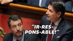 Le premier ministre italien annonce sa démission et règle ses comptes avec
