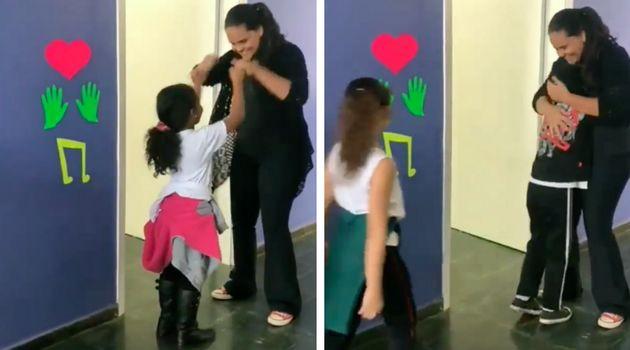 Vídeo de Tia Cacau, como é conhecida a universitária Camila Magalhães,