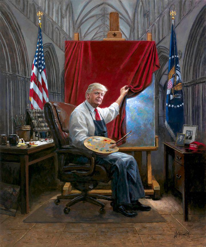 """""""The Masterpiece"""" by Jon McNaughton."""