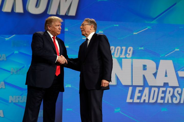 Donald Trump Appears To Be Caving To NRA On Background Checks