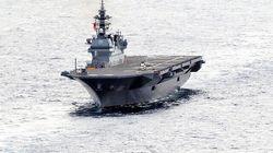 護衛艦「いずも」、最初の利用は米軍機。日本側が伝えていた。