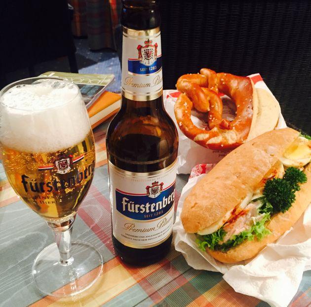 2015年3月のドイツひとり旅。ビール、プレッツェル、ソーセージなど、炭水化物&カロリー高めの旅でした(笑)。朝と夕方、食べたいものをたっぷりと食べていました。