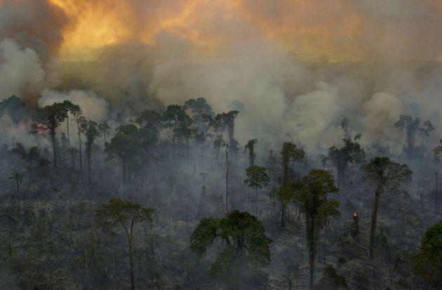 Πυρκαγιά στον Αμαζόνιο: Το Σάο Πάολο σκοτείνιασε στις 3 το μεσημέρι λόγω της