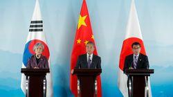 강경화가 한중일 외교장관 회의서 일본을