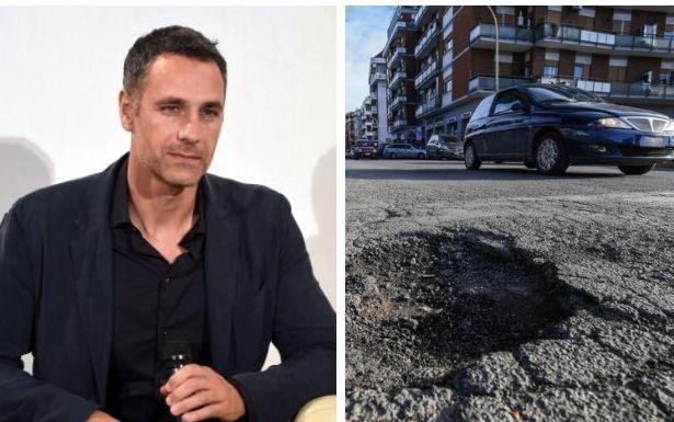 """Raoul Bova: """"Niente motorino ai miei figli: le buche a"""