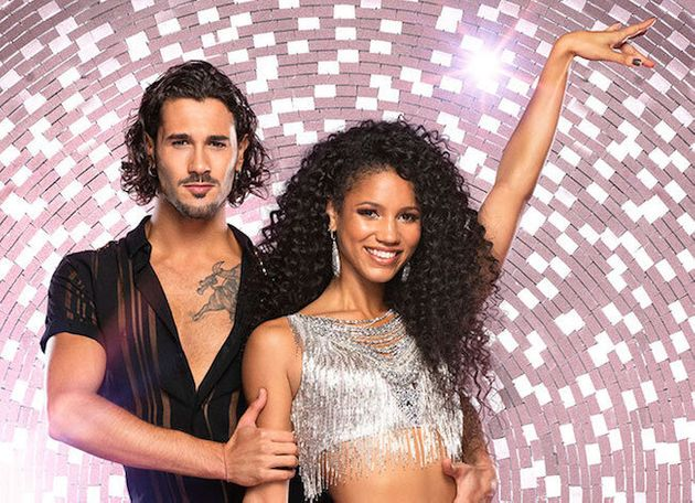 Graziano was paired with Vick Hope during his first