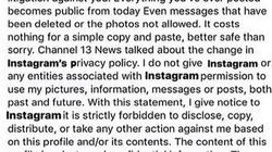 Qué hay de cierto en esta publicación de Instagram que están compartiendo los