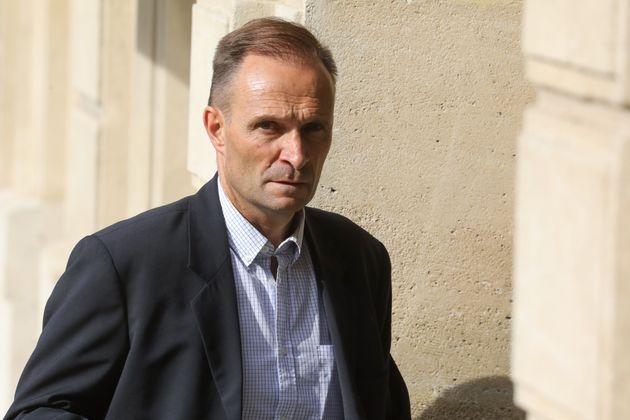 Benoît Ferrand à l'Élysée le 10 juillet