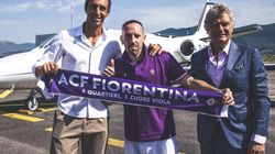 Franck Ribéry arrive en rock-star à la