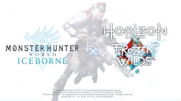 'Monster Hunter World: Iceborne' Is Getting a 'Horizon Zero Dawn: The Frozen Wilds' Collaboration on