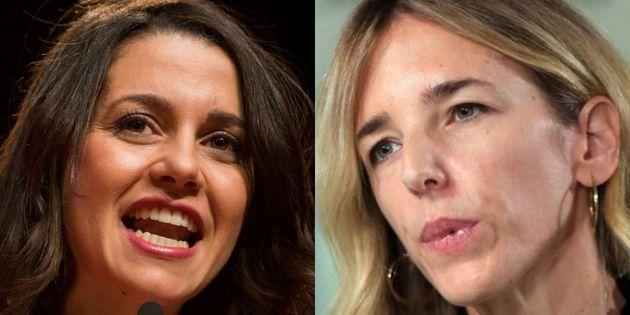Inés Arrimadas y Cayetana Álvarez de