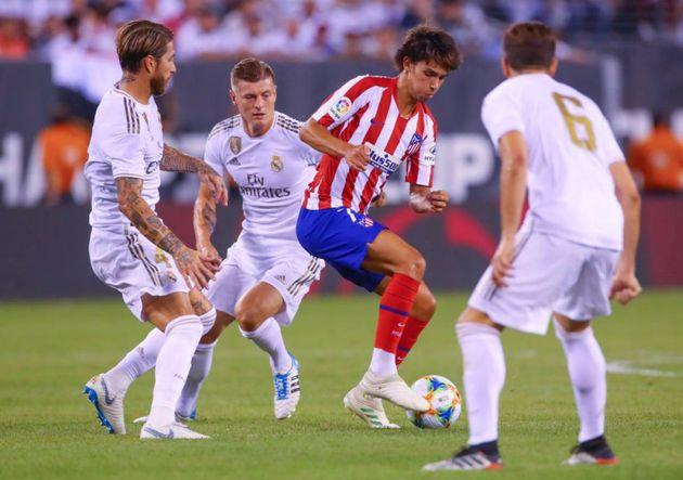 El Atlético y el Real Madrid se enfrentarán en Liga el 28 de