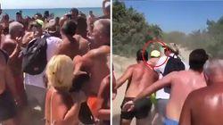 Vacanze impossibili per Vasco. I fan lo assediano in spiaggia e lui scappa