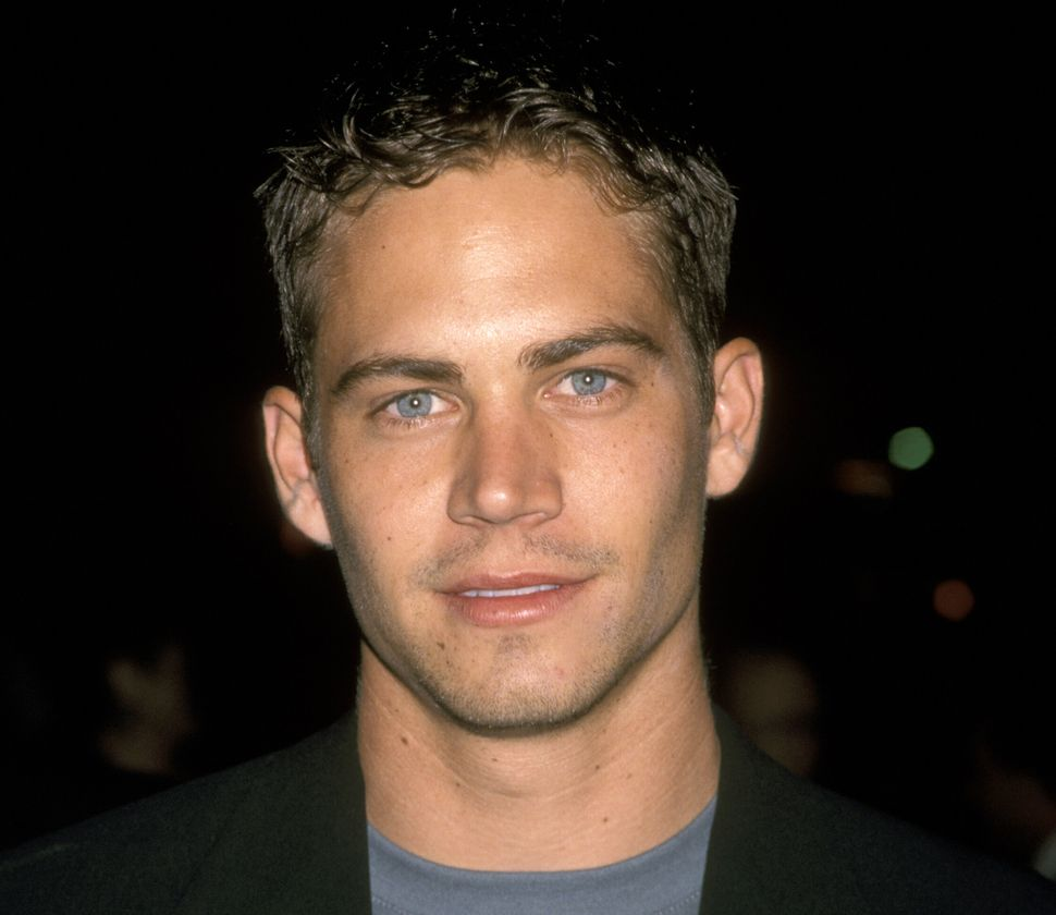 "Paul Walker at the premiere of ""Pleasantville"" in Los Angeles, California, in October 1998."