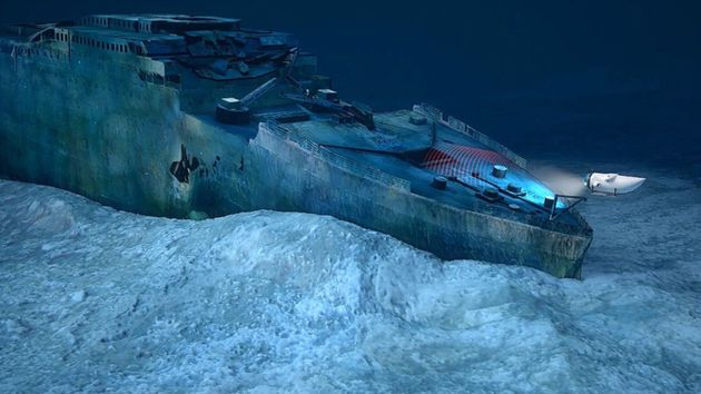 First Titanic Dive In More Than A Decade Reveals Stunning Pictures Of Crumbling